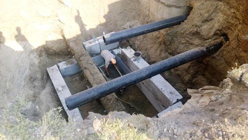 Строительство и прокладка водопровода